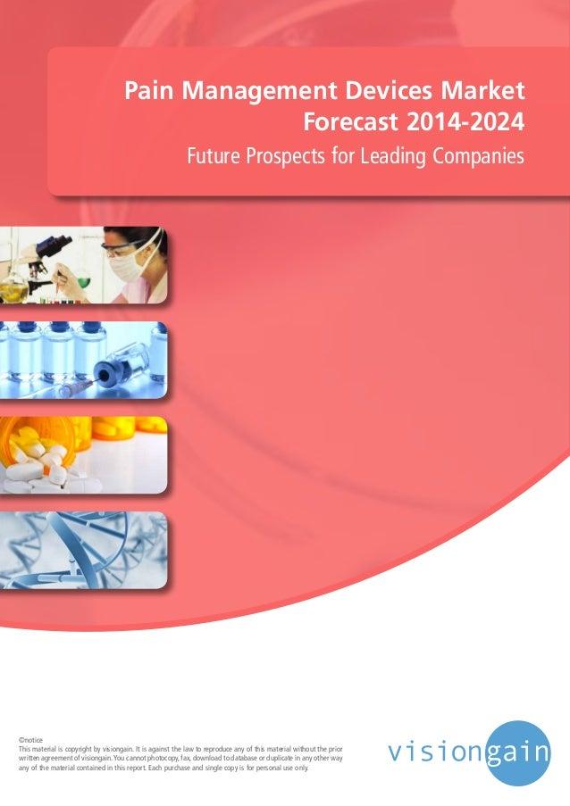Pain Management Devices Market Forecast 2014 2024