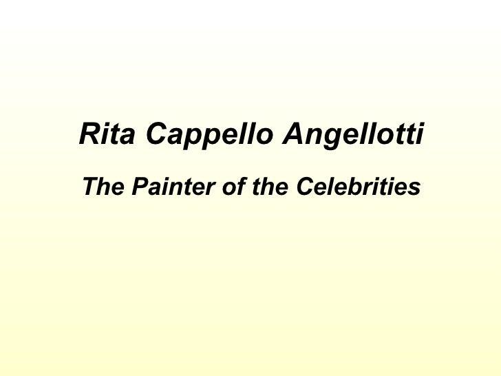 Painter Of The Celebrities