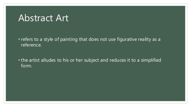 All about painting definition elements types styles for Different types of abstract art