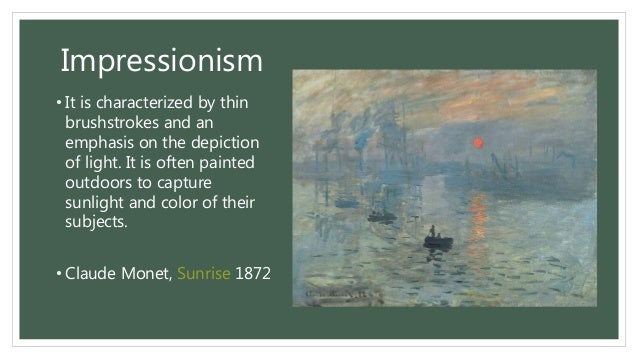 All about painting definition elements types styles for In their paintings the impressionists often focused on