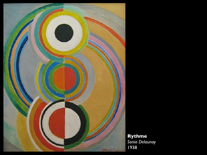Painting Using Balance Pattern Repetition Shape Amp Colour