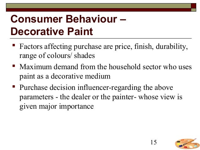 factors affecting the paint industry Major growth driver of indian paint industry are elucidated as under: 1  that  these factors supported by the increasing penetration of the paint.