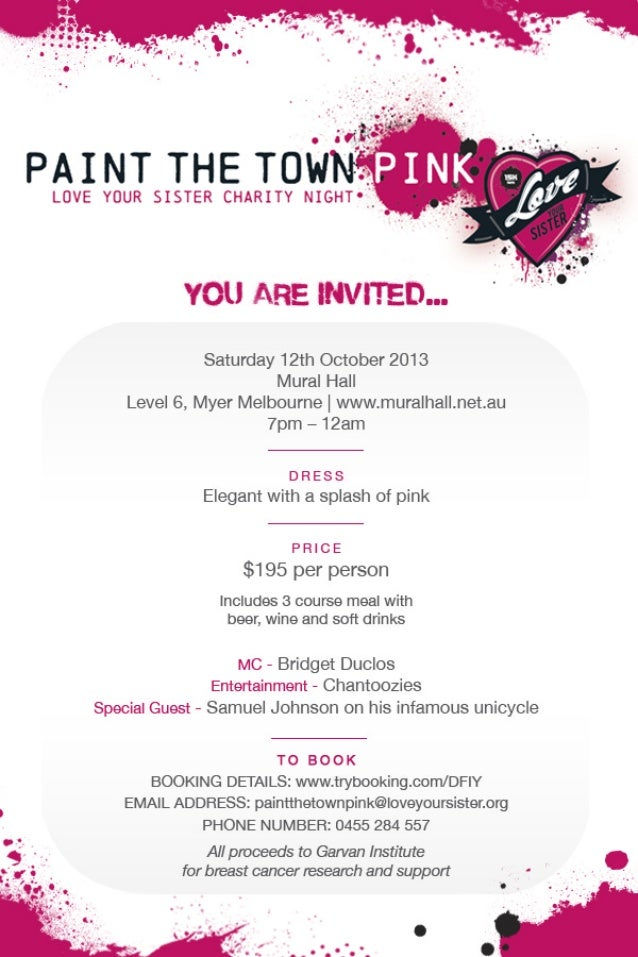 Paint the Town Pink