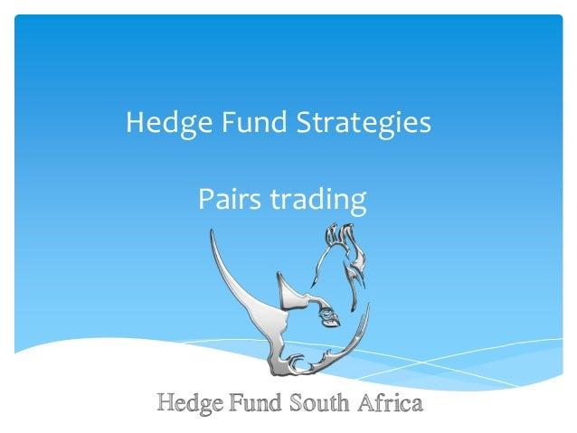 Pairs Trading - Hedge Fund Strategies