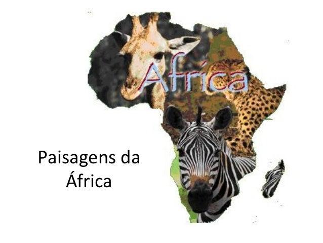 Paisagens da África