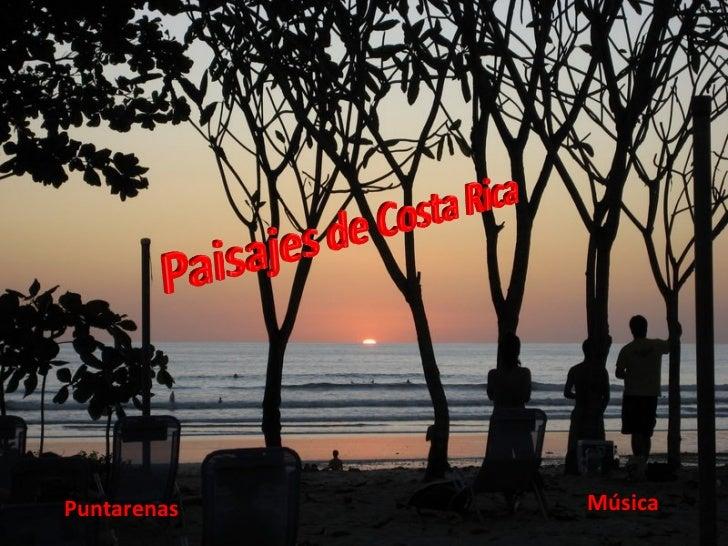 Paisajes De Costa Rica (Cmp)