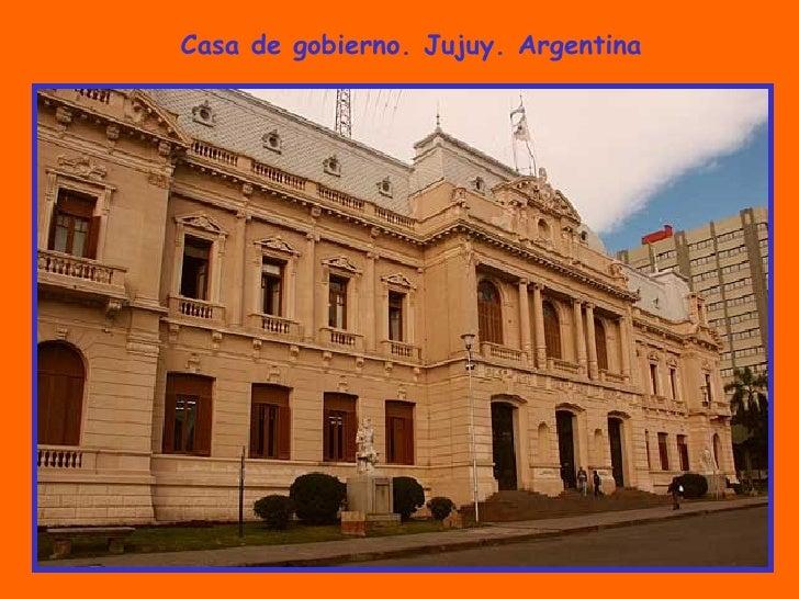 Casa de gobierno. Jujuy. Argentina