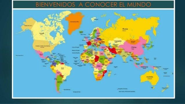 Paises de los cinco continente - Continente y contenido ...