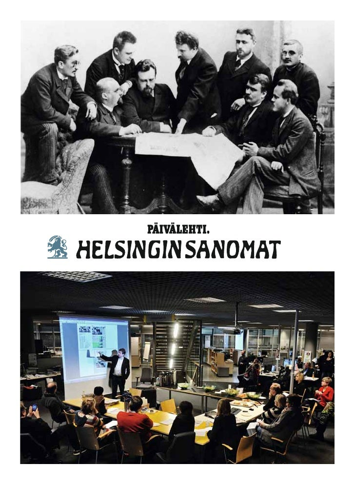 History of Helsingin Sanomat