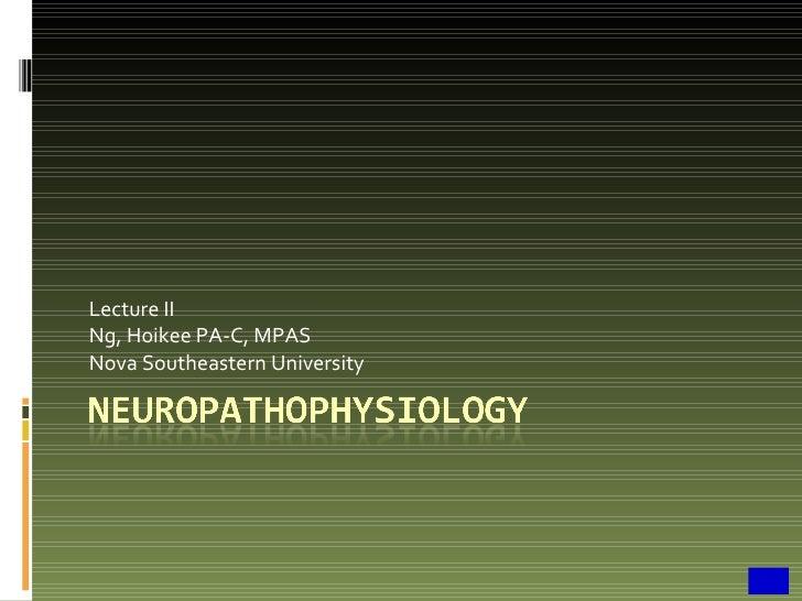 Paj 5103 clinical neuropahtophys ii hn10