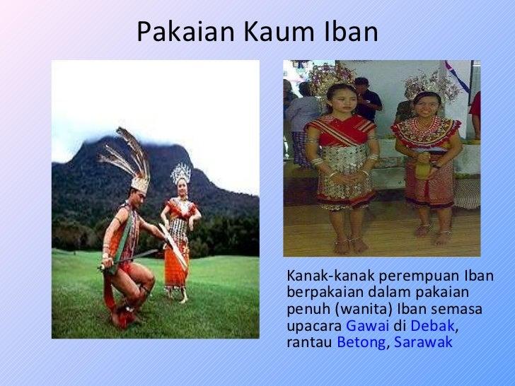 Pakaian Tradisional Kaum Iban Ibanology