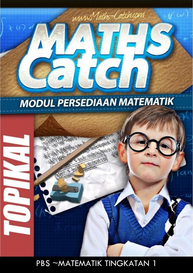 1 050/1 2013 Maths Catch Network © www.maths-catch.com [Lihat halaman sebelah] SULIT USAHA +DOA+TAWAKAL MATHS Catch PBS ~M...