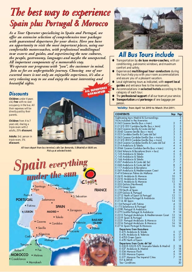 As a Tour Operator specializing in Spain and Portugal, we offer an extensive selection of comprehensive tour packages with...