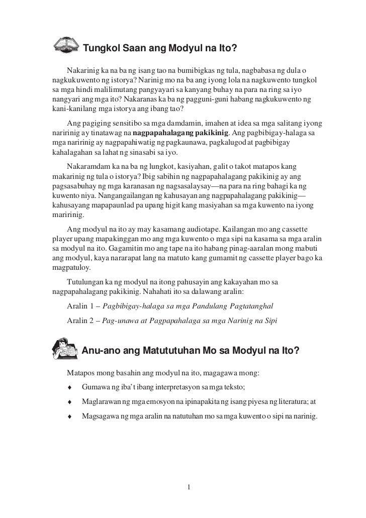 Pakikinig nang may_pagpapahalaga
