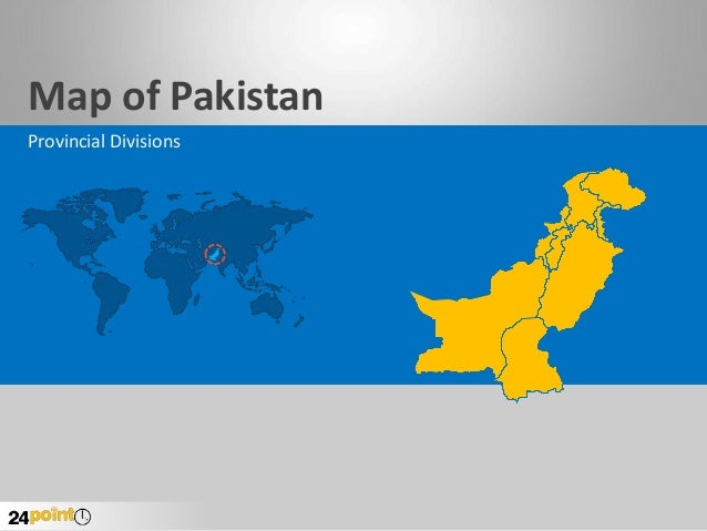Map of Pakistan Provincial Divisions