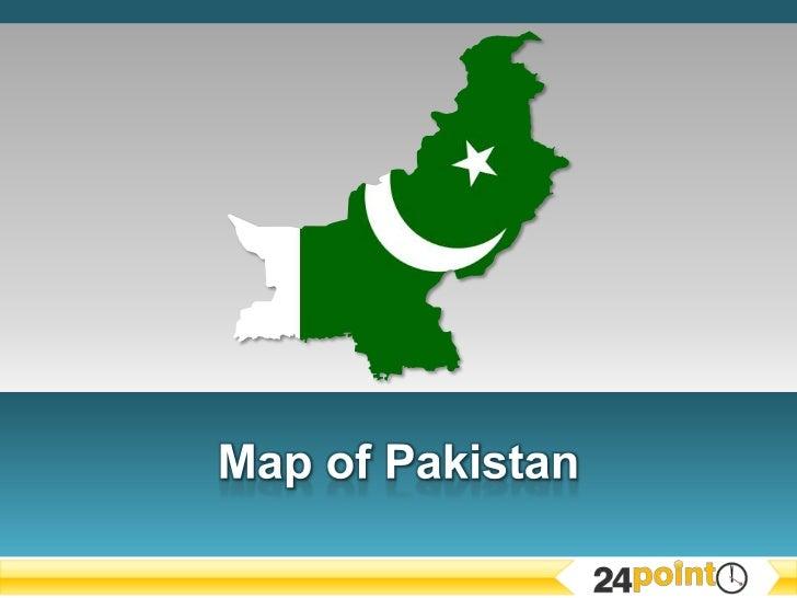 Editable Map of Pakistan