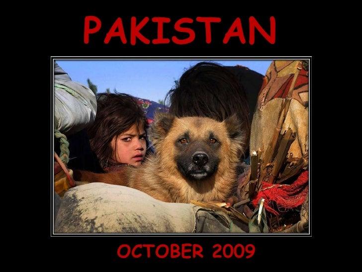 Pakistan - October 2009