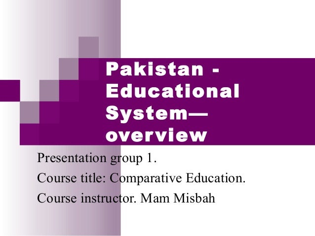pakistans educational system
