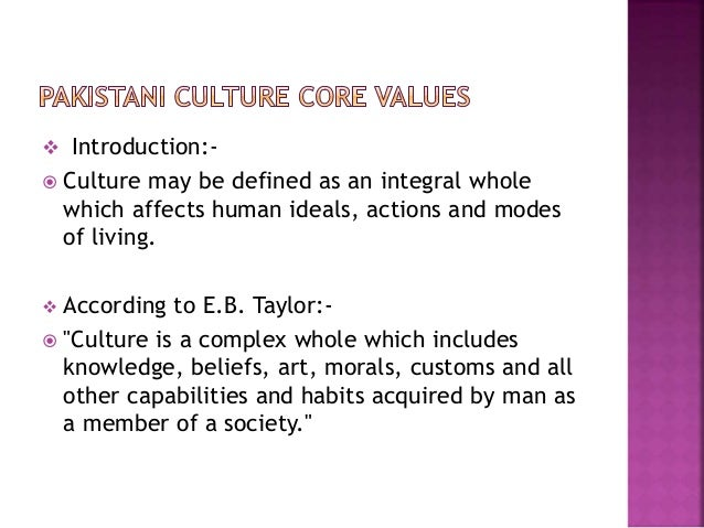 Introduction To Values Essay
