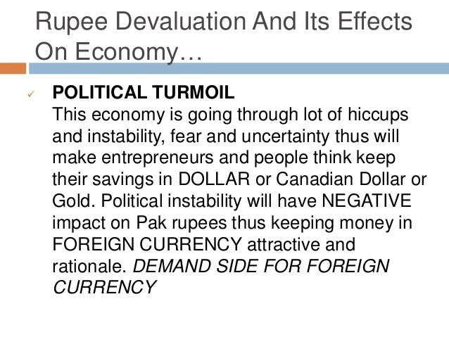 currency depreciation and its impacts 2009-7-24 short-run and long-run effects of currency depreciation 21 since this paper is about pakistan, a brief review of the literature about pakistan's.