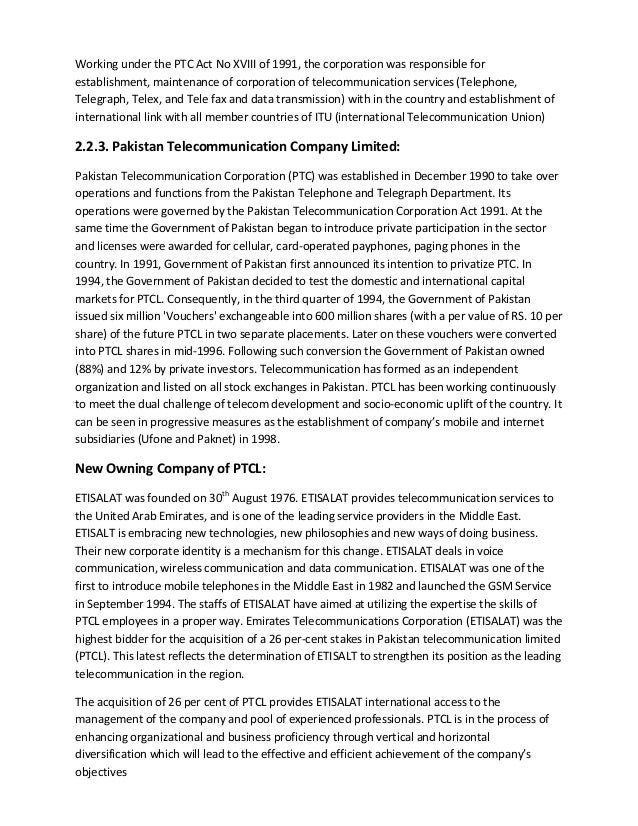 research on ptcl Telegeography's free daily email summary of the world's top telecom news stories.