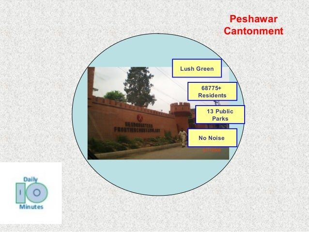 Lush Green  Peshawar  Cantonment  68775+  Residents  13 Public  Parks  No Noise