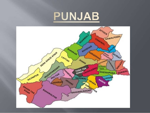 """    Punjab comes from the Persian words panj (five) and ab (river) and means """"Land of the Five Rivers."""" It is the name u..."""