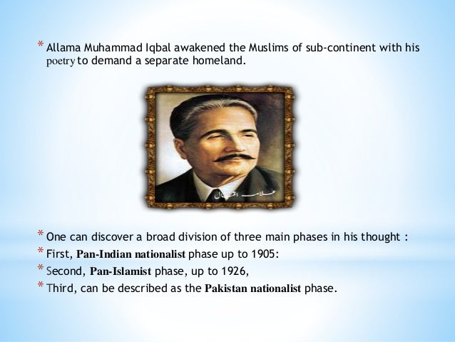 why did muslims of the subcontinent demand a separate homeland for themselves