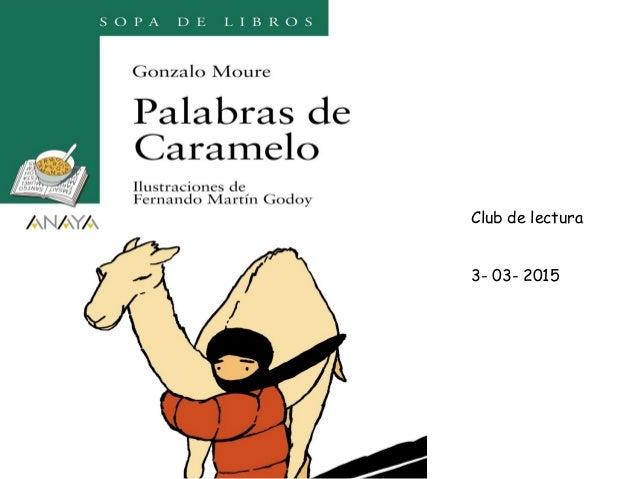 Club de lectura 3- 03- 2015