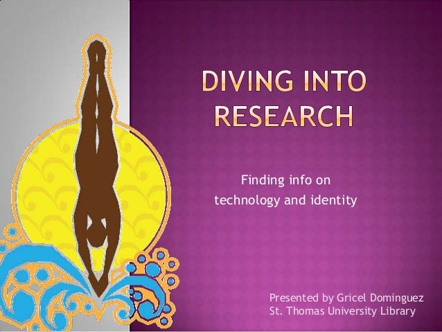 Diving into Research
