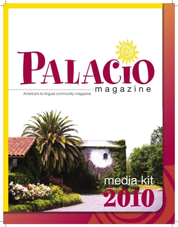 Palacio Nation Media Kit 2010