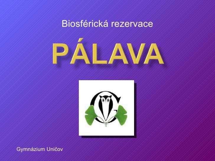 Rok 2010 - Mezinárodní rok biodiverzity - Biosférická rezervace Pálava