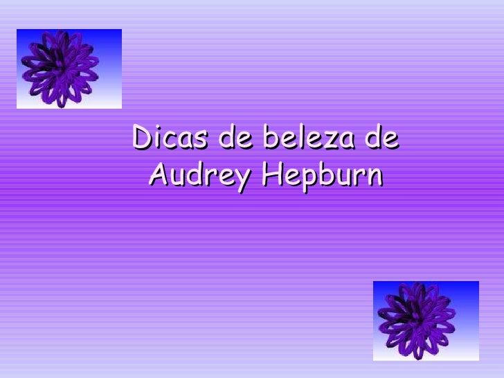 Palavras de Audrey Hepburn