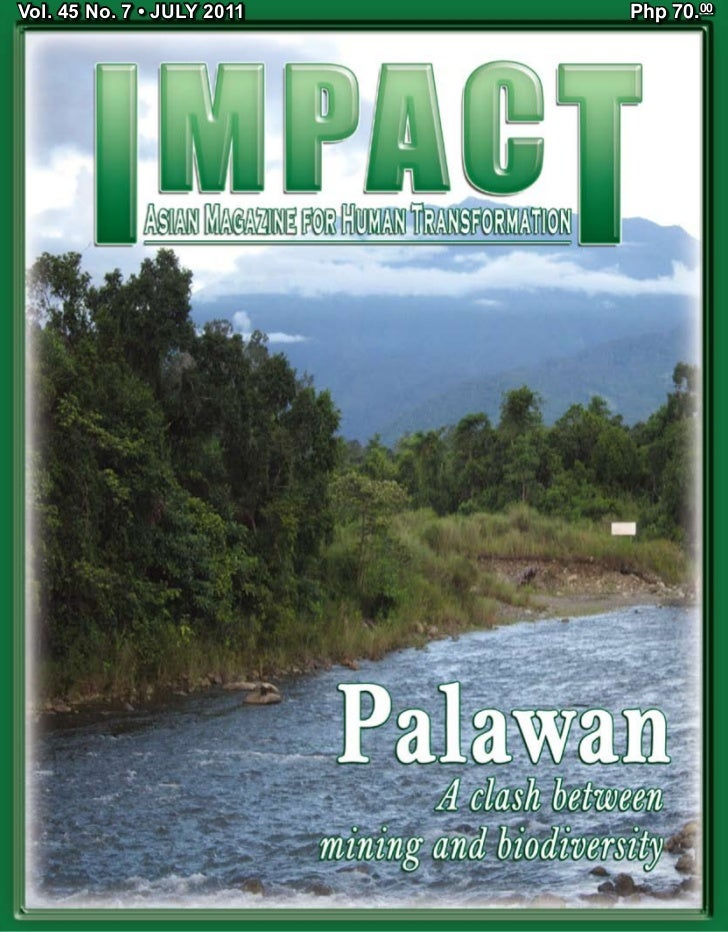 Palawan - A Clash Between Mining and Biodiversity