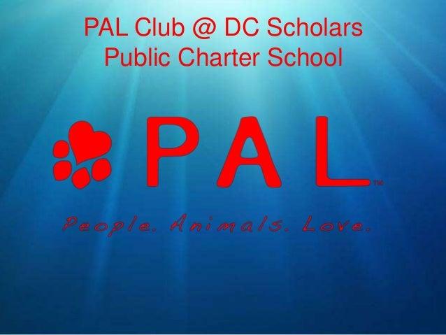 PAL Club @ DC Scholars Public Charter School