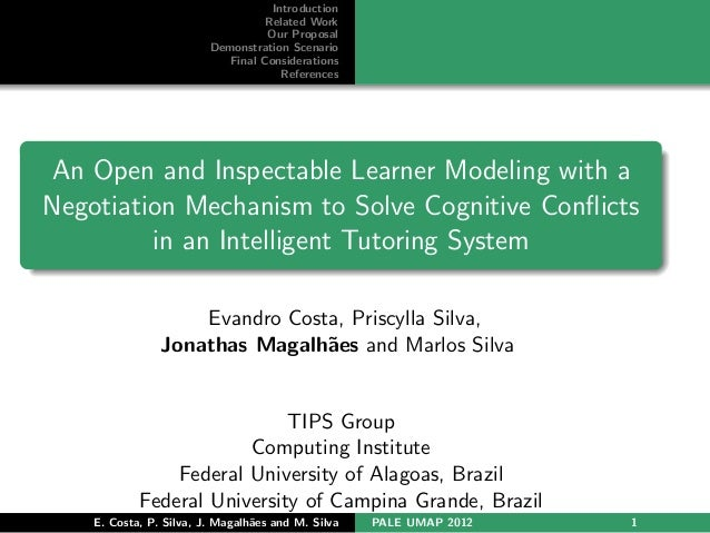An Open and Inspectable Learner Modeling with a Negotiation Mechanism to Solve Cognitive Conflicts in an Intelligent Tutoring System