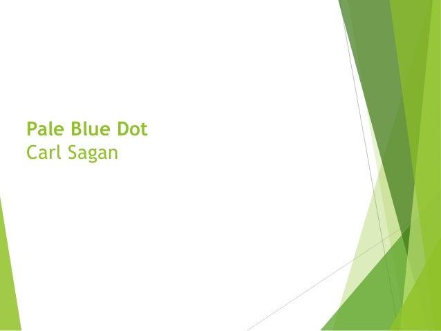 Pale Blue Dot By Prof. M. S. Pillai