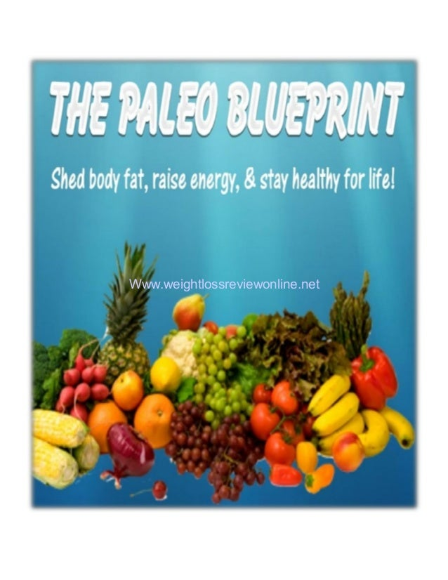 The Paleo Diet Blueprint: Shred fat, lose weight and increase health