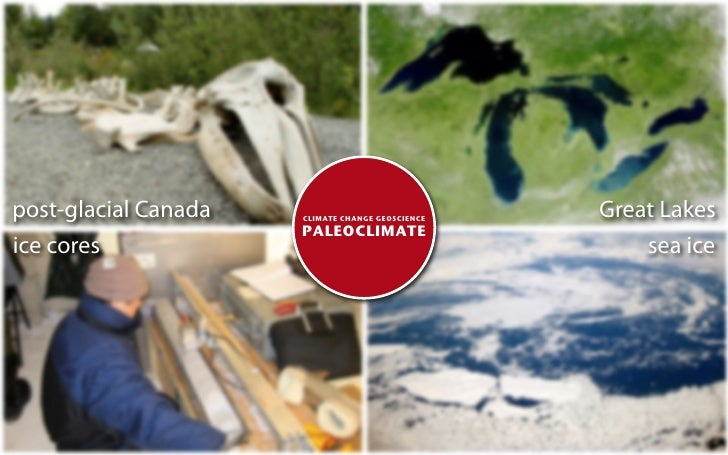post-glacial Canada   CLIMATE CHANGE GEOSCIENCE                                                   Great Lakes             ...