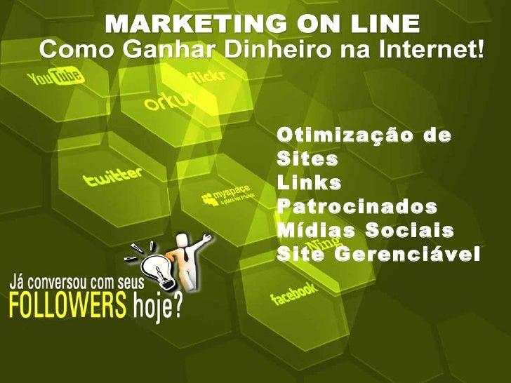 Palestra De Marketing Online