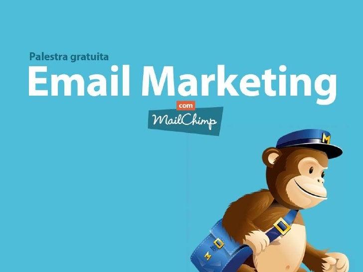 Palestra Email Marketing com Mailchimp