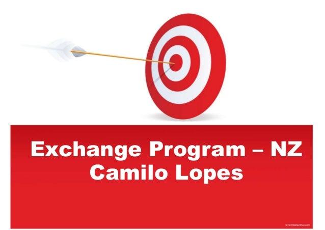 Exchange Program – NZ Camilo Lopes