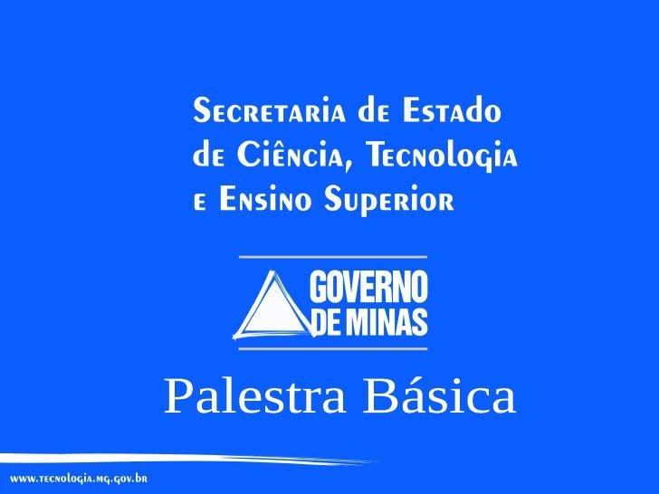 Secretaria de Ciencia, Tecnologia e Ensino Superior de Minas Gerais