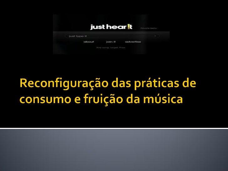    Plataformas de música online   Novas formas de categorização de gêneros    musicais   Reconfiguração da crítica musi...