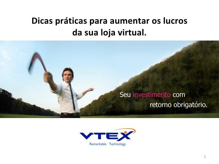 Palestra ecommerce aumento_conversao_2012