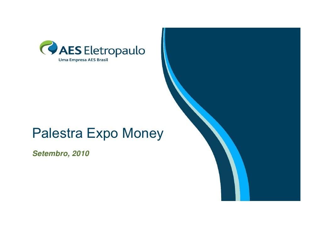 Palestra Expo Money - São Paulo
