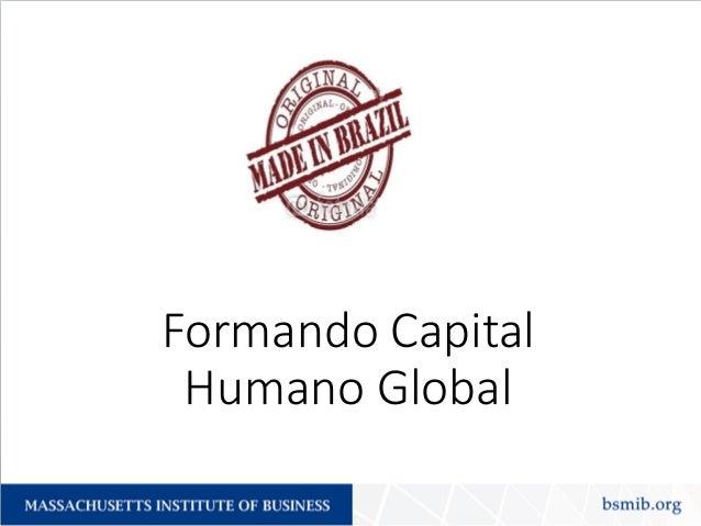 Formando Capital Humano Global