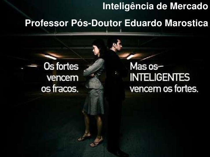 Palestra Inteligência de Mercado INPG