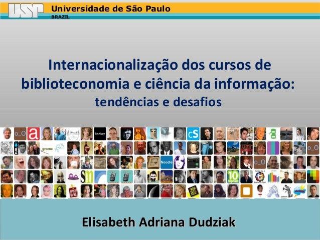 Palestra internacionalização elisabeth adriana dudziak 15-10-13
