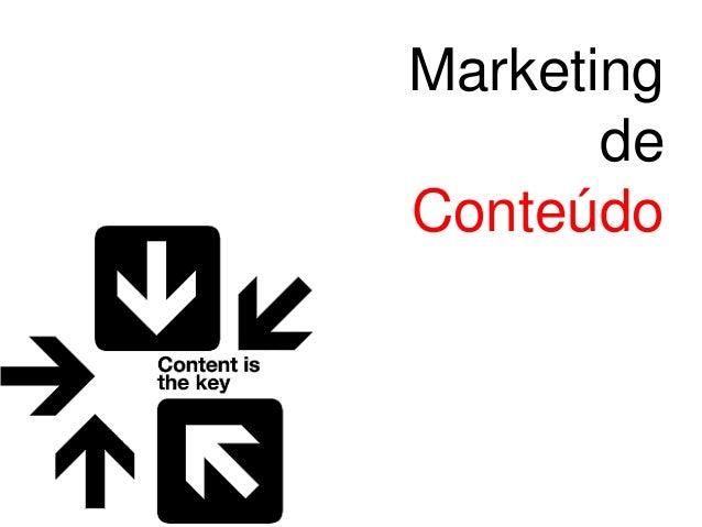 Palestra Marketing de Conteúdo